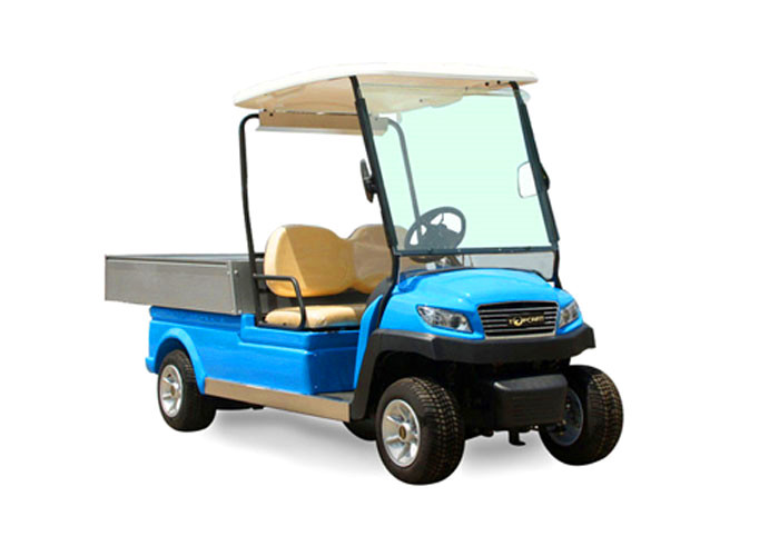 Popular 48v Utility Electric Car Golf Cart With Led Lights For Luggage