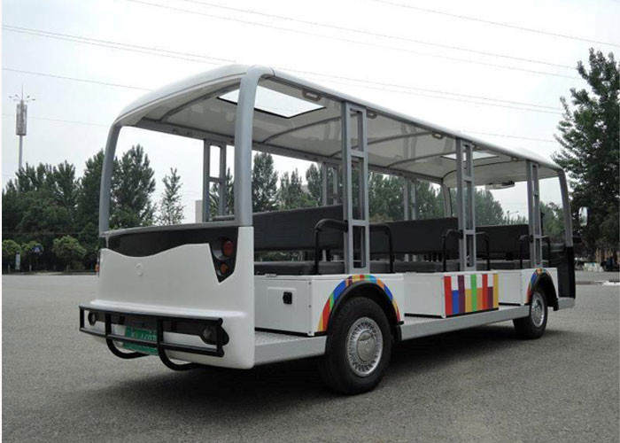 23 Seats Electrical Shuttle Bus With Door